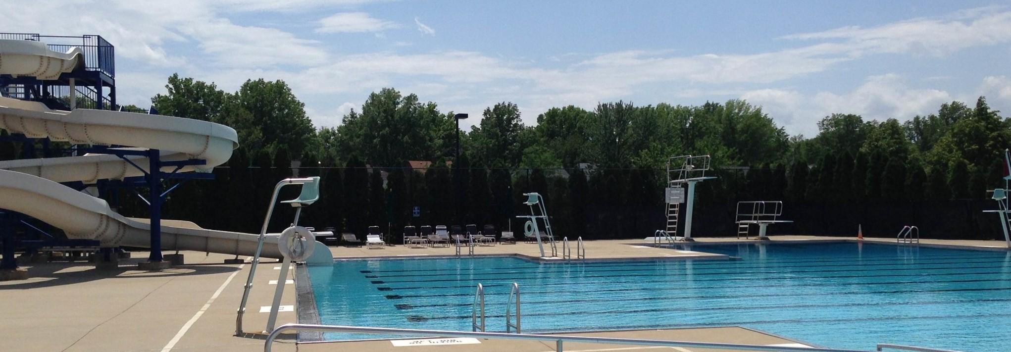 Purvis park and city pool city of university heights for Garden city pool hours