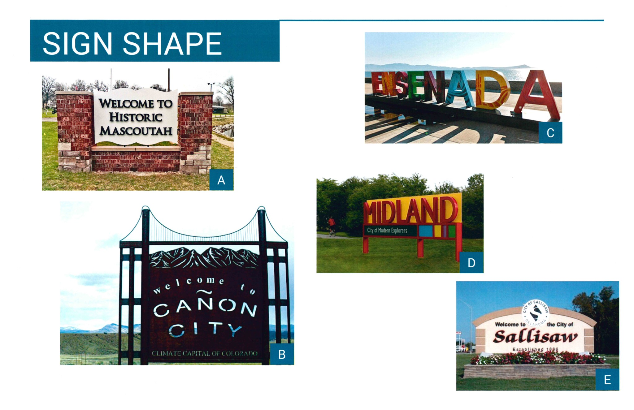 Sign Shape Graphic