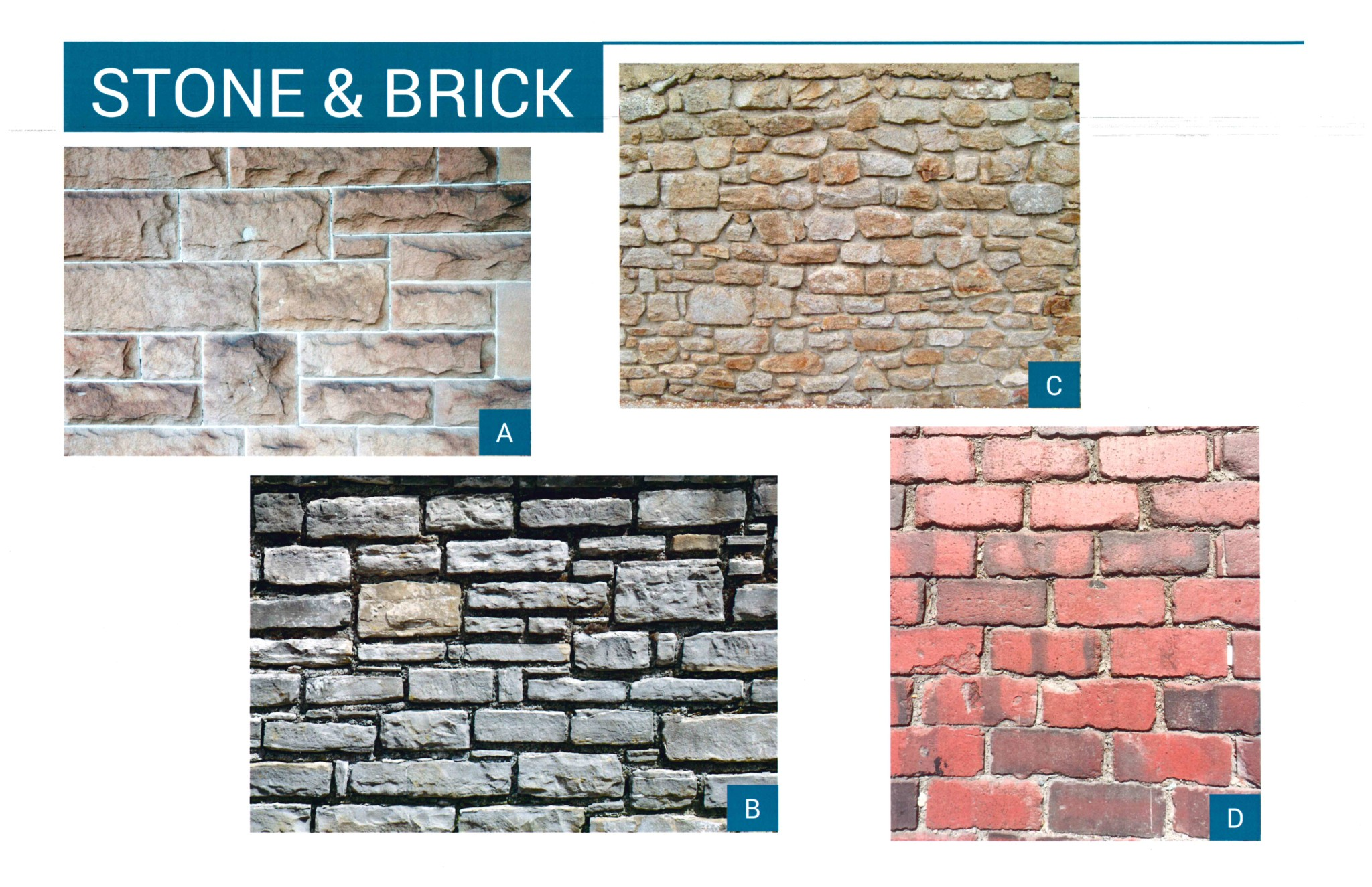 Stone and Brick Graphic