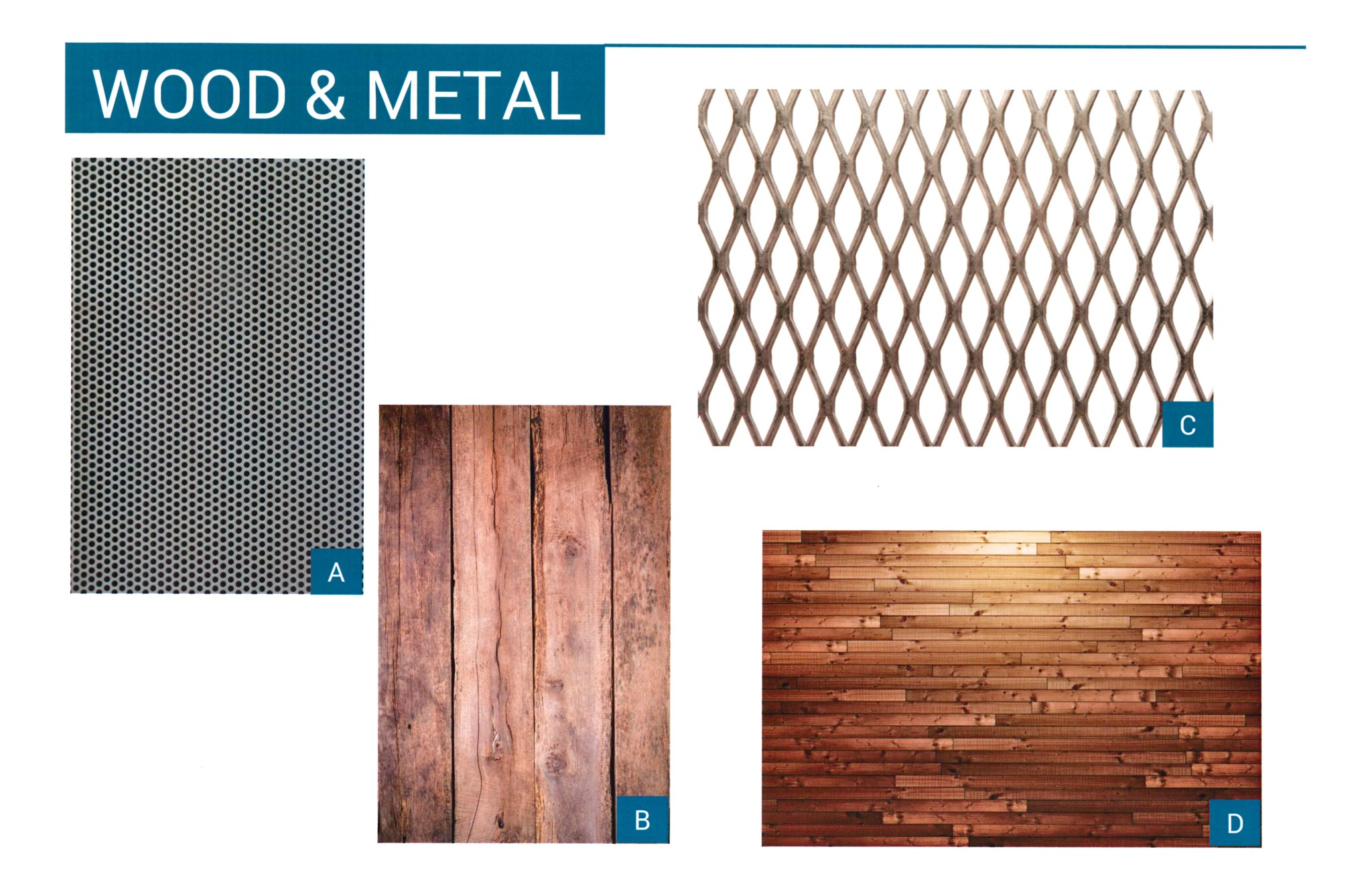 Wood and Metal Graphic
